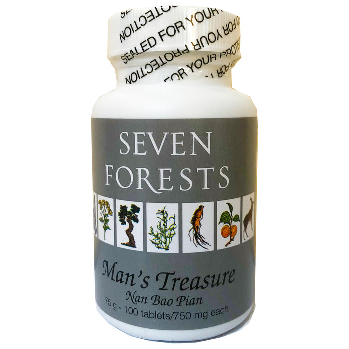 man's treasure - seven forests - 100 tabs