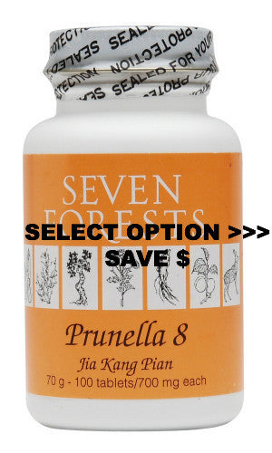 Prunella 8, Traditional Chinese Medicine for lipoma