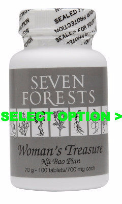 Woman's Treasure, Seven forest, traditional Chinese Medicine for Fertility