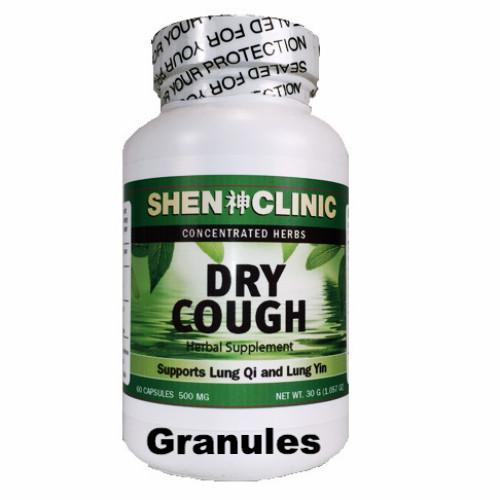Dry Cough Granules by Shen Clinic, TRADITIONAL CHINESE MEDICINE