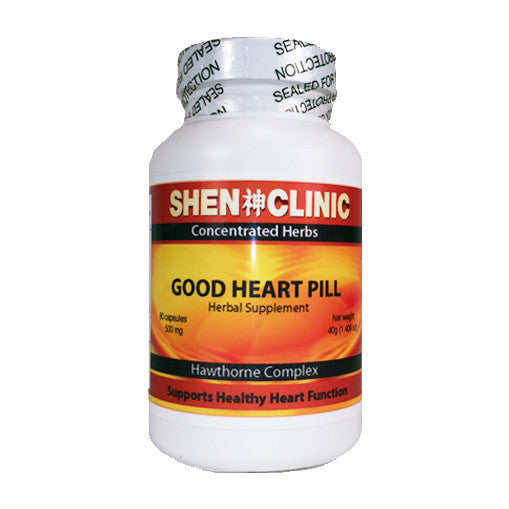 Good Heart, Hawthorn Pills for heart disease symptoms, coronary heart disease