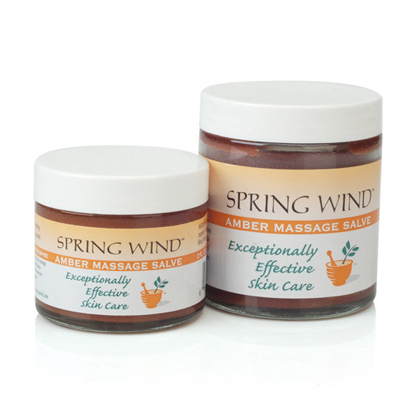 Amber Massage Salve / Spring Wind