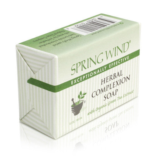 Spring Wind Herbal Complexion Soap for Dry Skin
