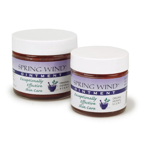 Spring Wind Ointment for Dry or Damaged Skin, Traditional Chinese Medicine