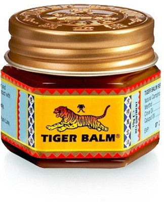 Red Tiger Balm, Traditional Chinese Medicine for Pain or Itch