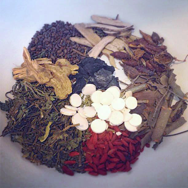 Ge Xia Zhu Yu Tang - whole herbs