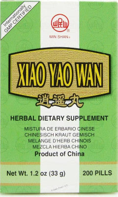 XIAO YAO WAN, Traditional Chinese Medicine for Stress