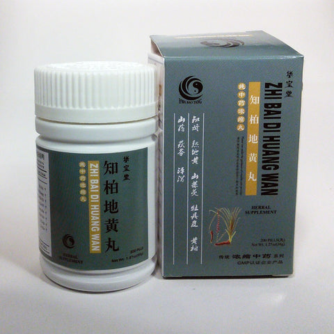 ZHI BAI DI HUANG WAN / HBW Chinese Patent Medicine | Save on 4-Pack