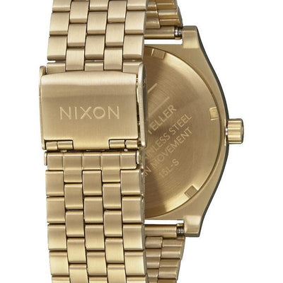Fancy Other Nixon Gold / White Time Teller Watch