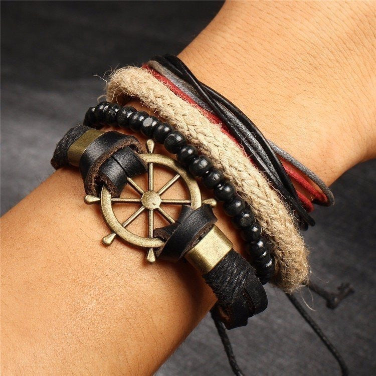 Multi-Layer Vintage Nautical Bracelet