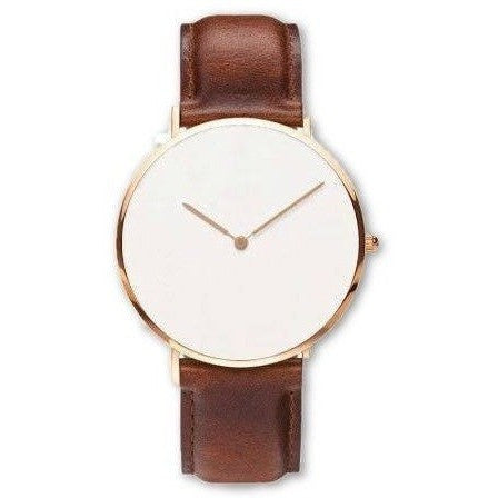 GOOD PICKNEY™ Mens Watch silver case Denmark Design Minimalist Watch Genuine