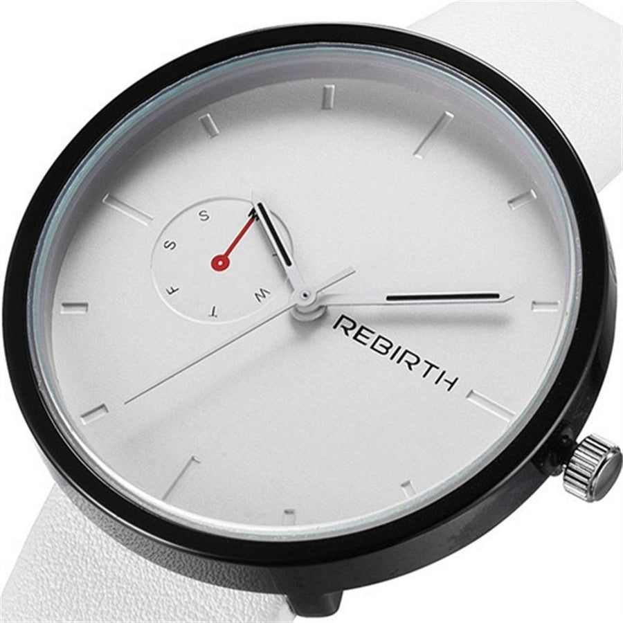 GOOD PICKNEY™ Womens Watch White REBIRTH Quartz Watch
