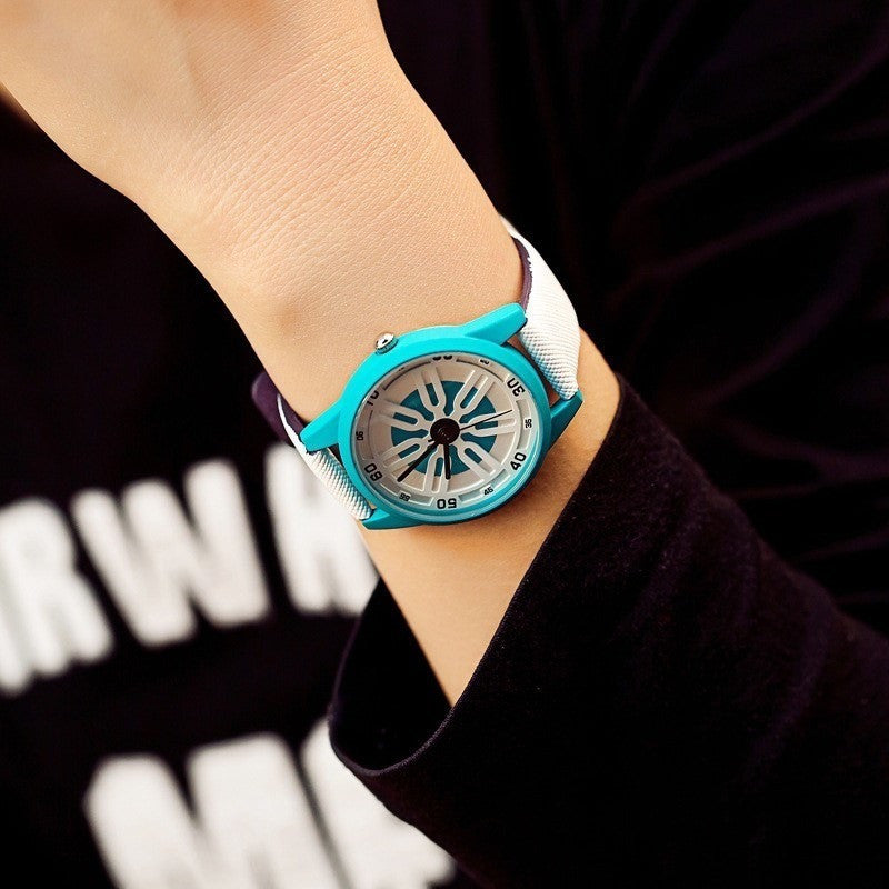 GOOD PICKNEY™ Womens Watch 03-TURQOISE Style by BGG Analog Quartz Watch