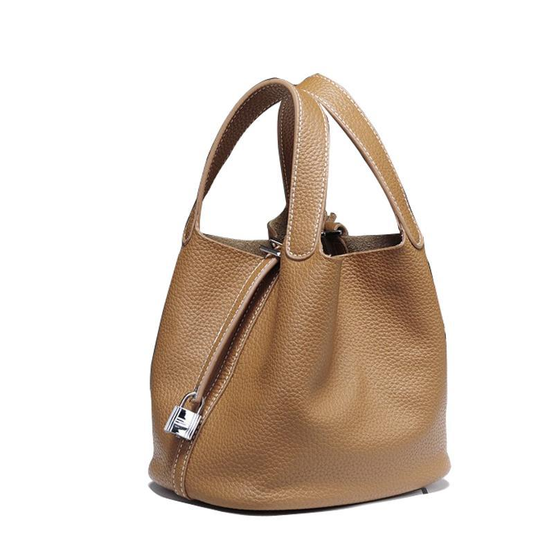 Picotin Leather Tote