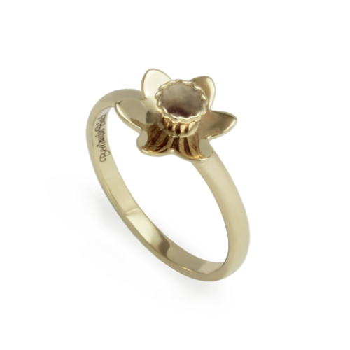 The Daffodil Ring - 9ct Gold