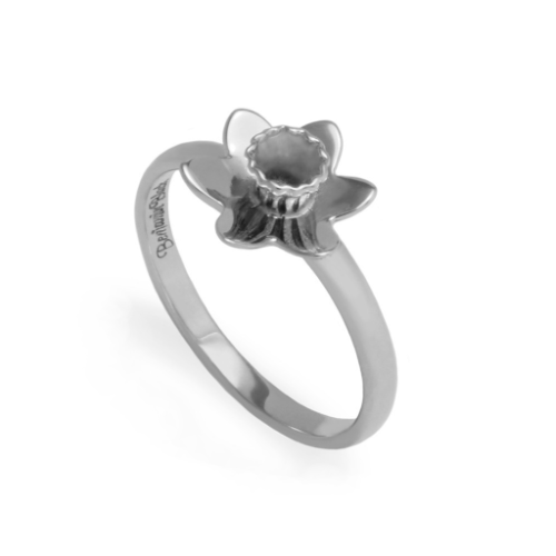 The Daffodil Ring - Sterling Silver