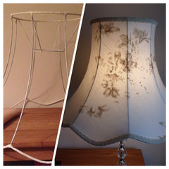 traditional lampshade refurbish