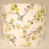 Garden Bird Citrus Lampshade
