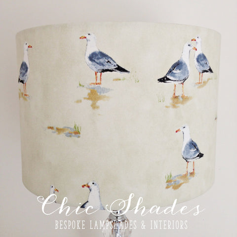 Seagull Cream Lampshade