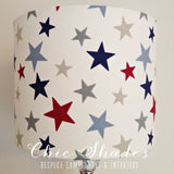 Star Lampshade Red Blue