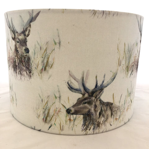 Voyage Wallace Stag Fabric Lampshade