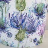 Voyage Eilean Donan Thistle Fabric Lampshade