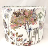 Voyage Hedgerow Dusk Flowers Cream Lampshade