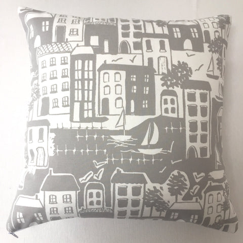 Waterside Grey Cushion