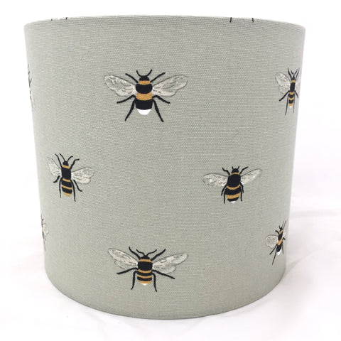Sophie Allport Bee Pale Green Lampshade