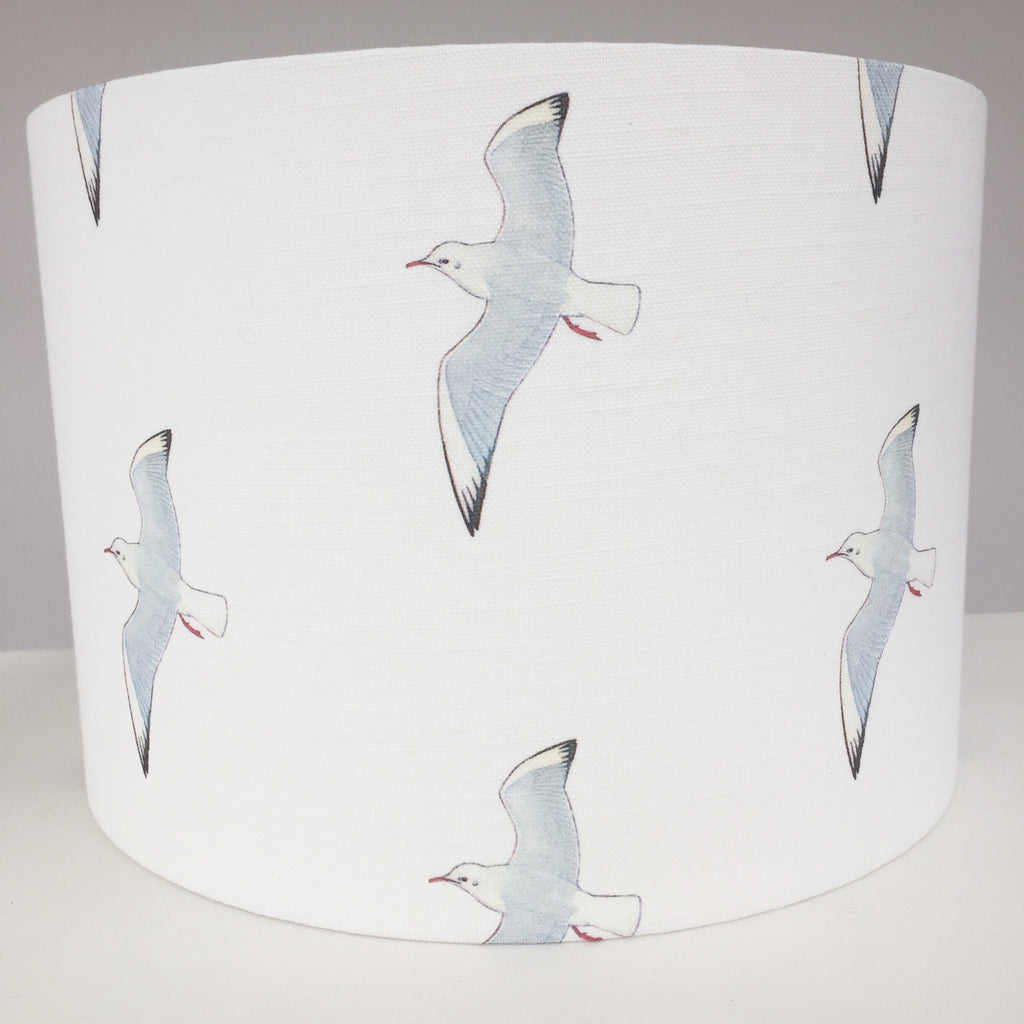White Seagull Lampshade
