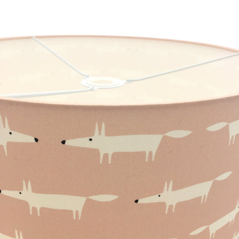 Scion Little Mr Fox Pink Lampshade