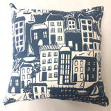 Waterside Navy Cushion