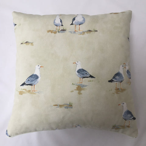 Seagull Cream Cushion