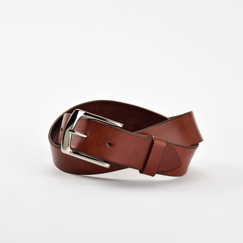 Simple Mahogany Belt