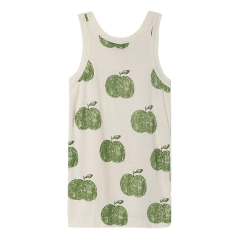 THE ANIMALS OBSERVATORY - Raw White Apples Gazel Kids Dress