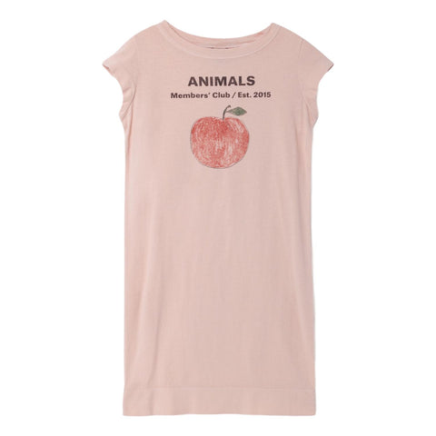 THE ANIMALS OBSERVATORY - Quartz Peach Parakeet Kids Dress