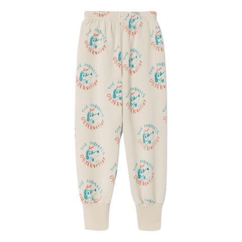 THE ANIMALS OBSERVATORY - Raw White Dogs Panther Kids Pants