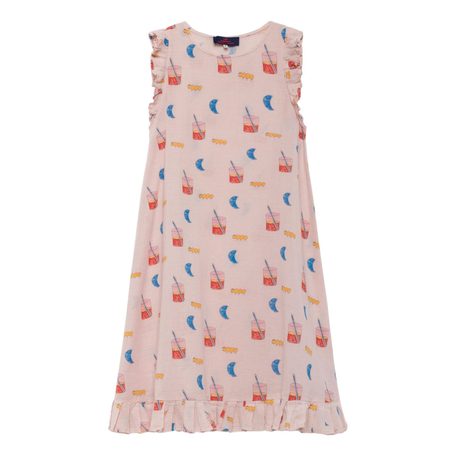 THE ANIMALS OBSERVATORY - Quartz Glasses Cow Kids Dress