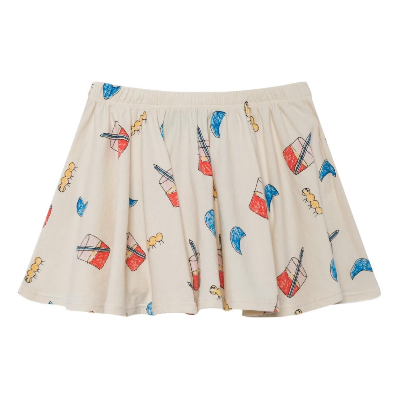 THE ANIMALS OBSERVATORY - Raw White Glasses Pelican Kids Skirt