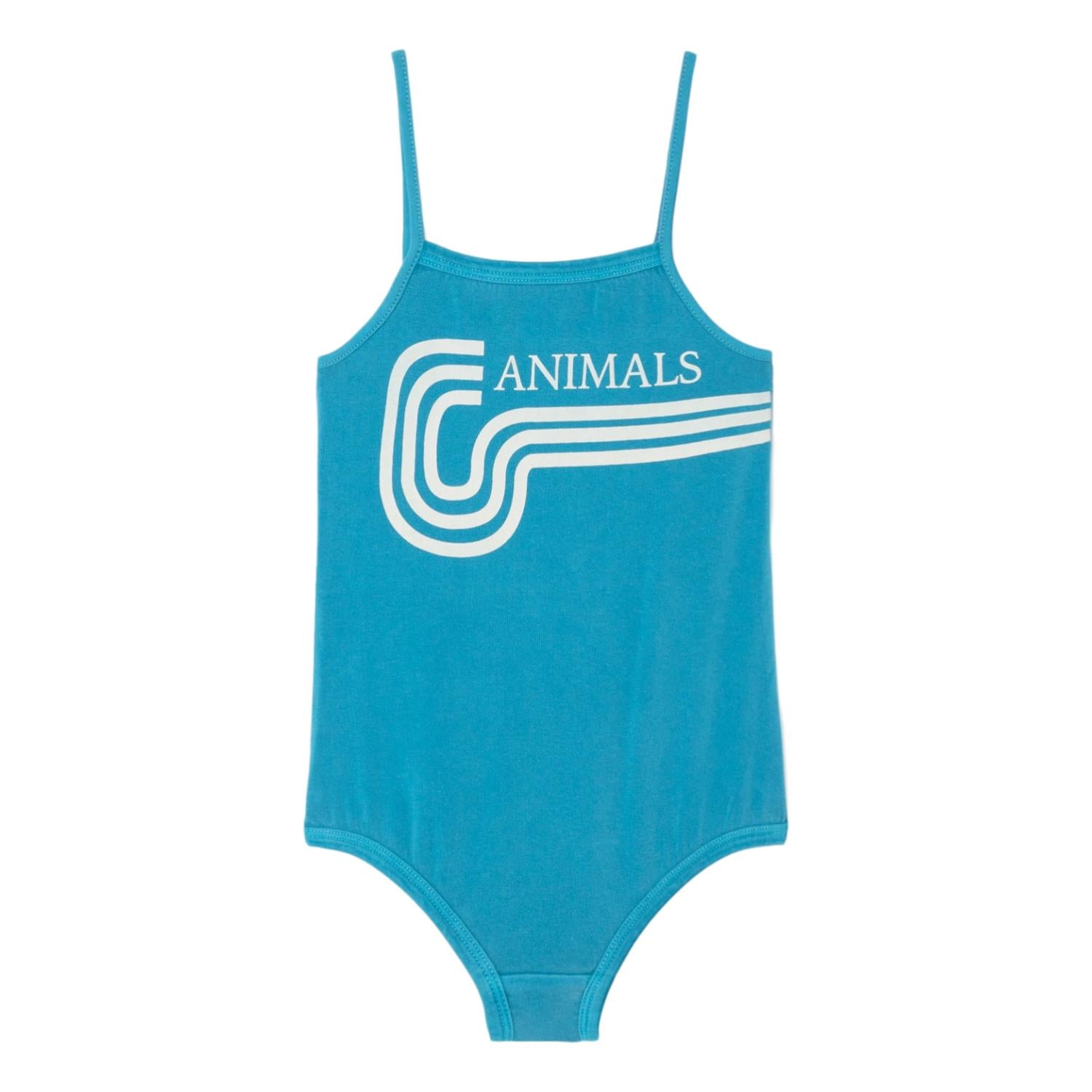 THE ANIMALS OBSERVATORY - Blue Animals Fish Kids Swimsuit