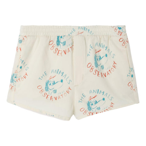 THE ANIMALS OBSERVATORY - Raw White Dogs Puppy Kids Swim Shorts