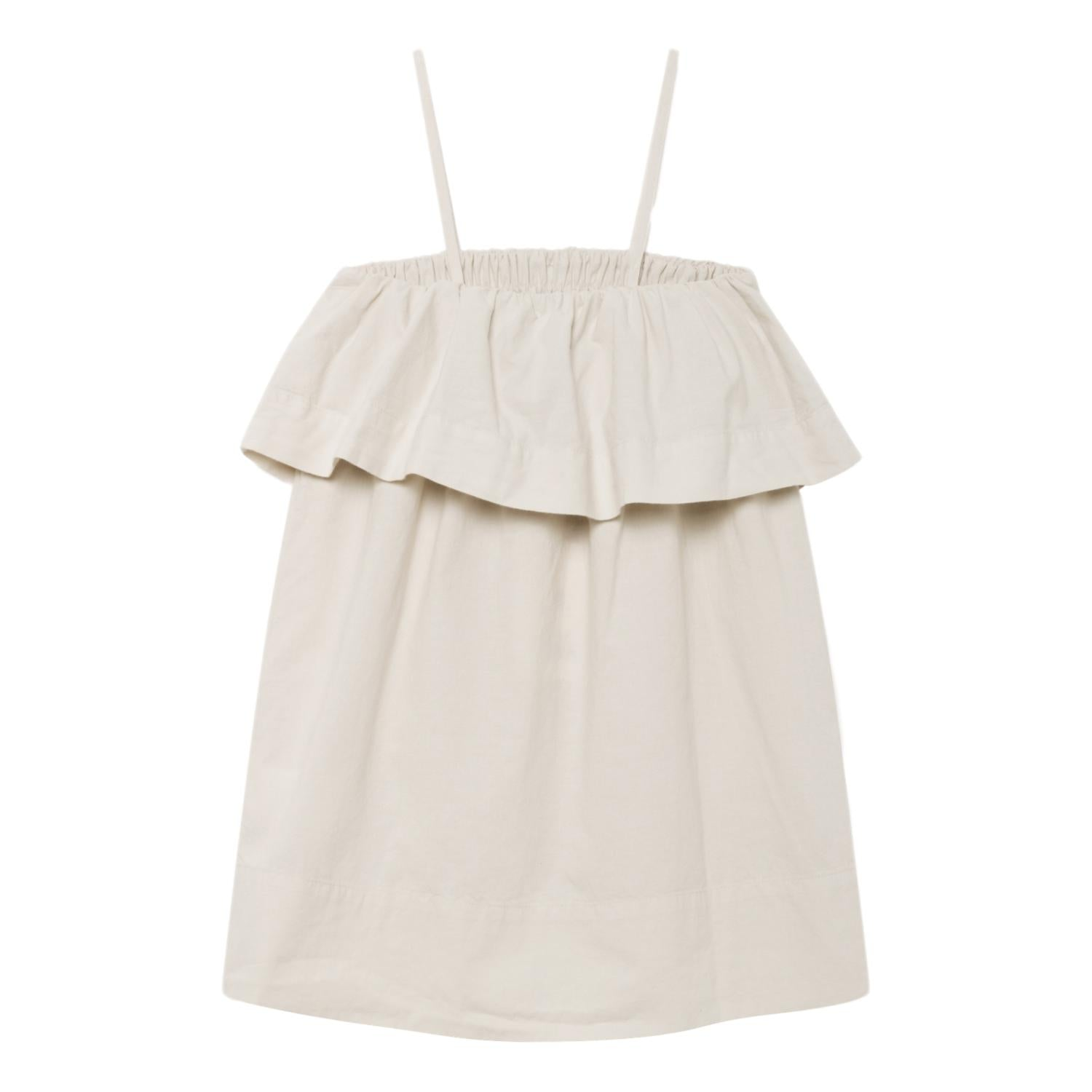 THE ANIMALS OBSERVATORY - Raw White Peach Dove Kids Dress