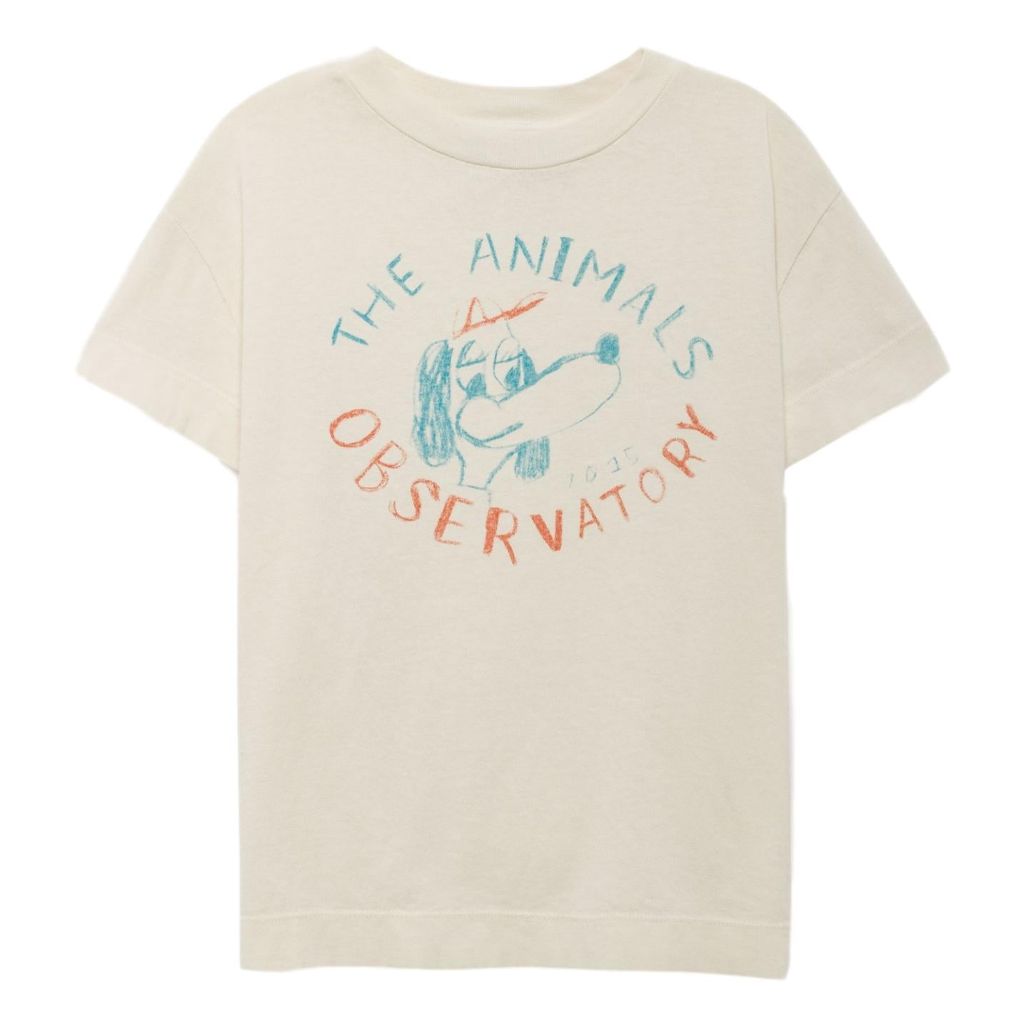 THE ANIMALS OBSERVATORY - Raw White Dogs Rooster Kids Tee