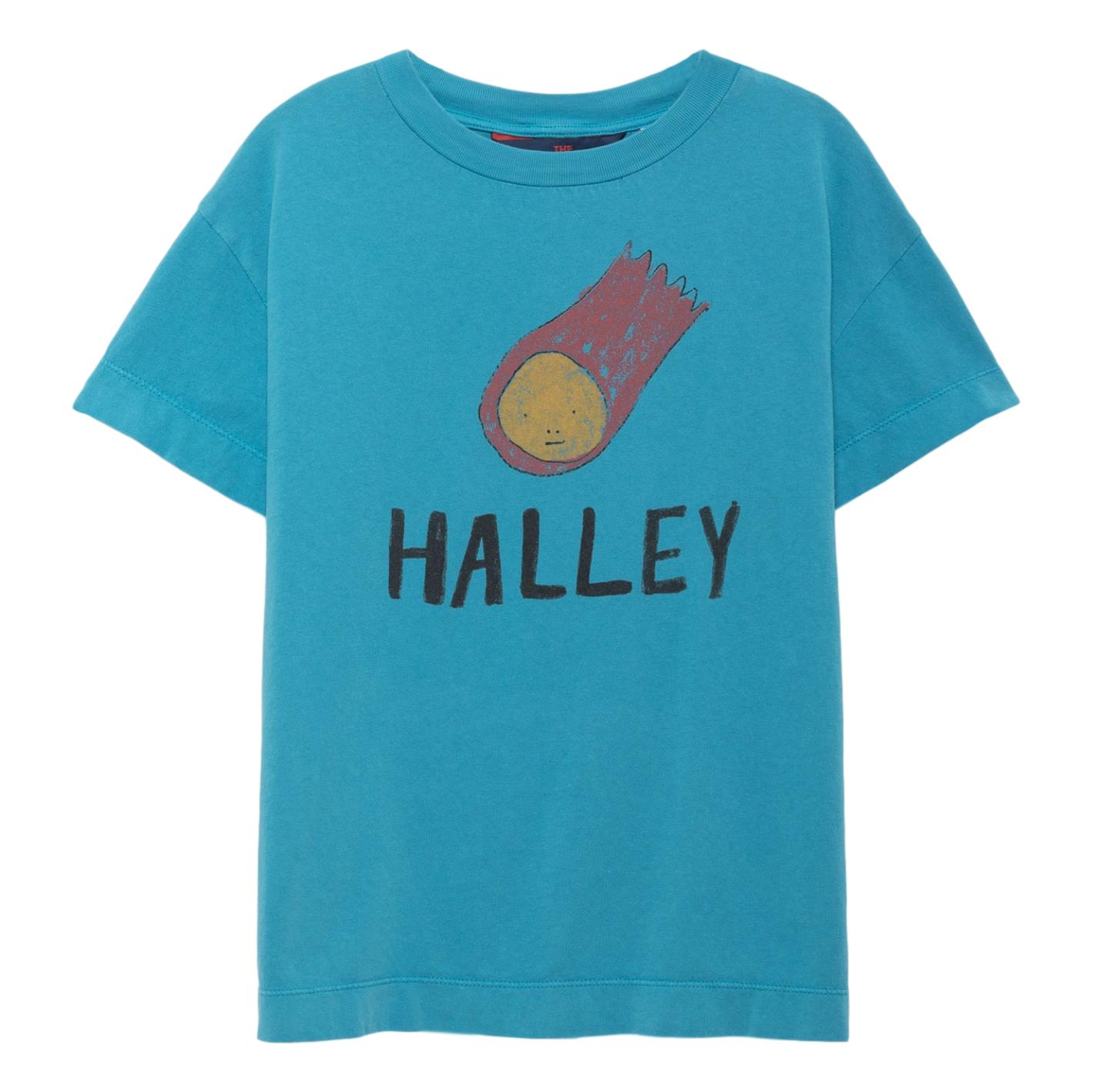 THE ANIMALS OBSERVATORY - Blue Halley Rooster Kids Tee