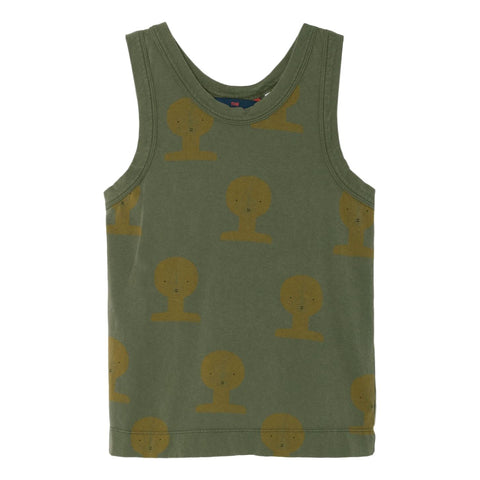 THE ANIMALS OBSERVATORY - Military Green TAO Busts Frog Kids Tank