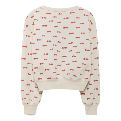 THE ANIMALS OBSERVATORY - Raw White Noseman Bear Kids Sweatshirt