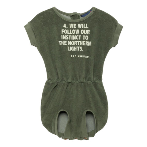 THE ANIMALS OBSERVATORY - Military Green Manifesto Koala Babies Suit