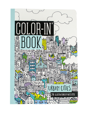 International Arrivals | Color-In' Book Urban Cities | www.theminilife.com
