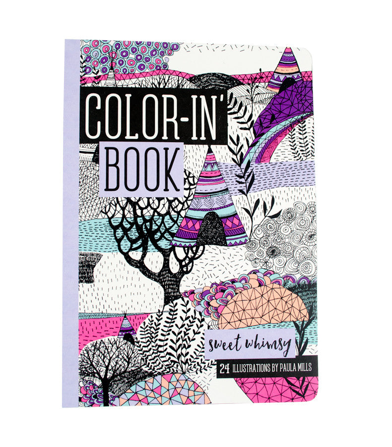 International Arrivals | Sweet Whimsy Color-In' Book | www.theminilife.com