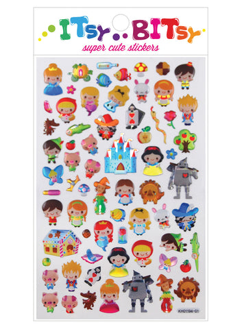 ITERNATIONAL ARRIVALS | ITSY BITSY STICKERS - FAIRY TALES | WWW.THEMINILIFE.COM